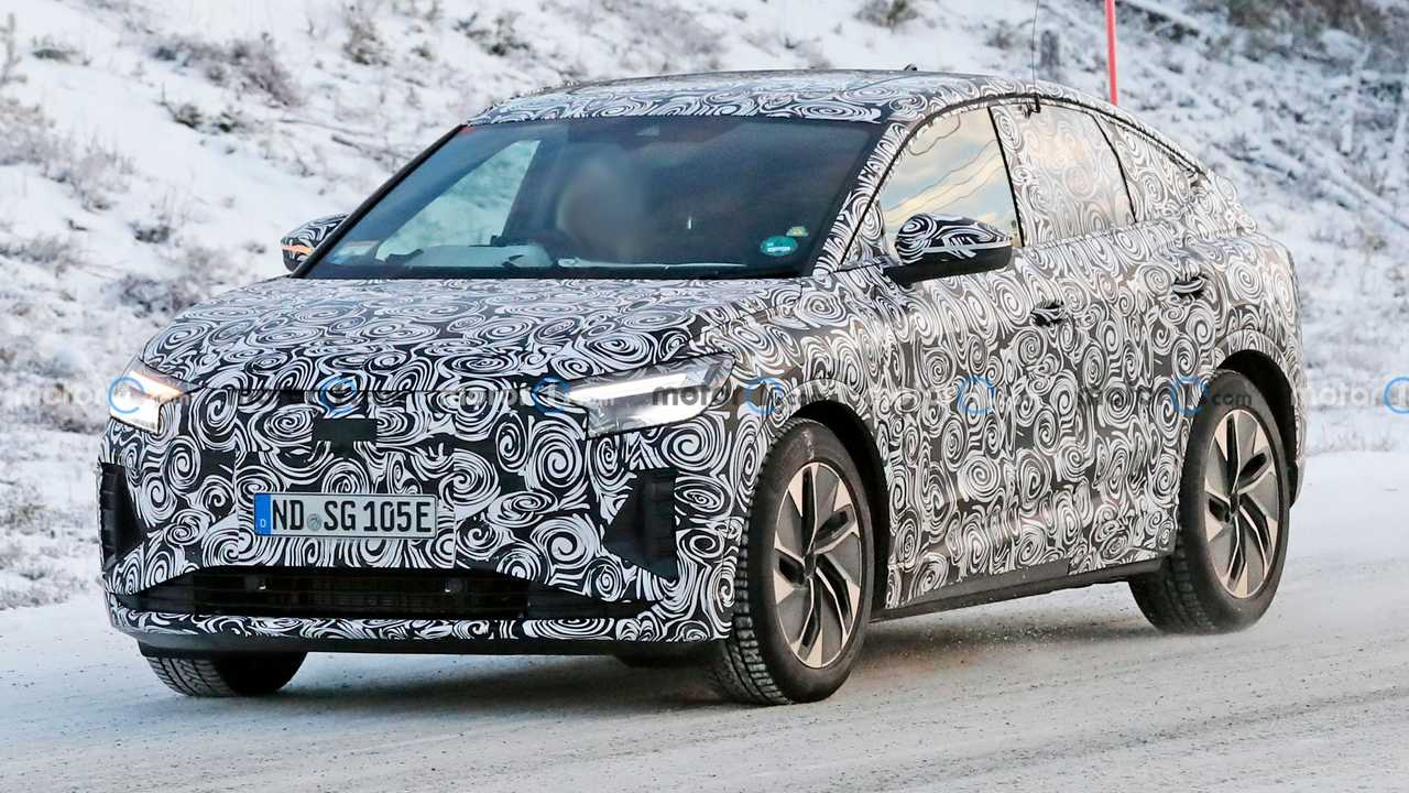 Audi Q4 E-Tron Sportback Front Spy Photo
