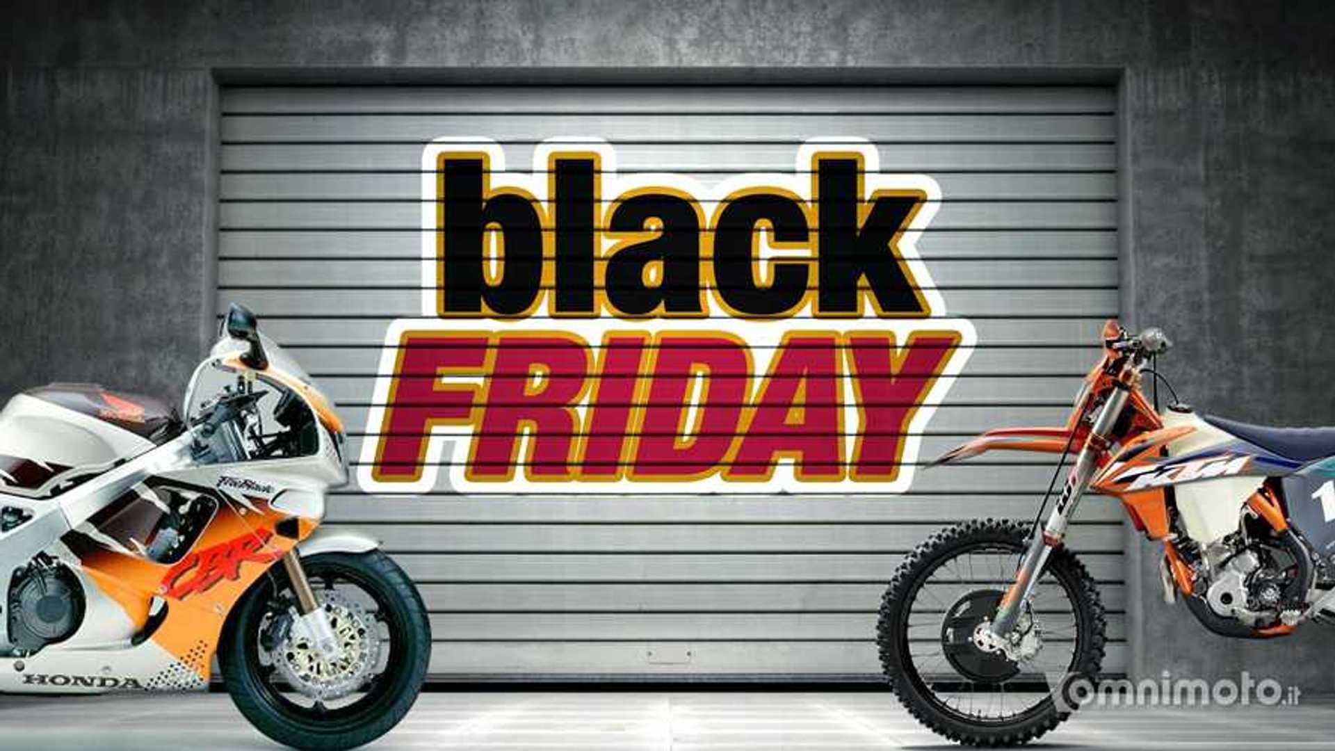 Black Friday 2020: tutti gli sconti per i motociclisti