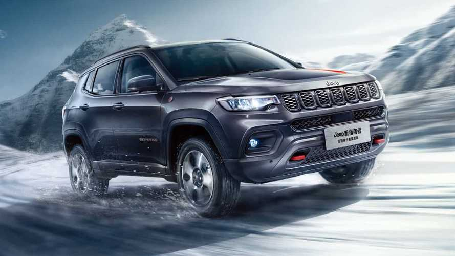 Jeep Compass restyling, le novità svelate in Cina