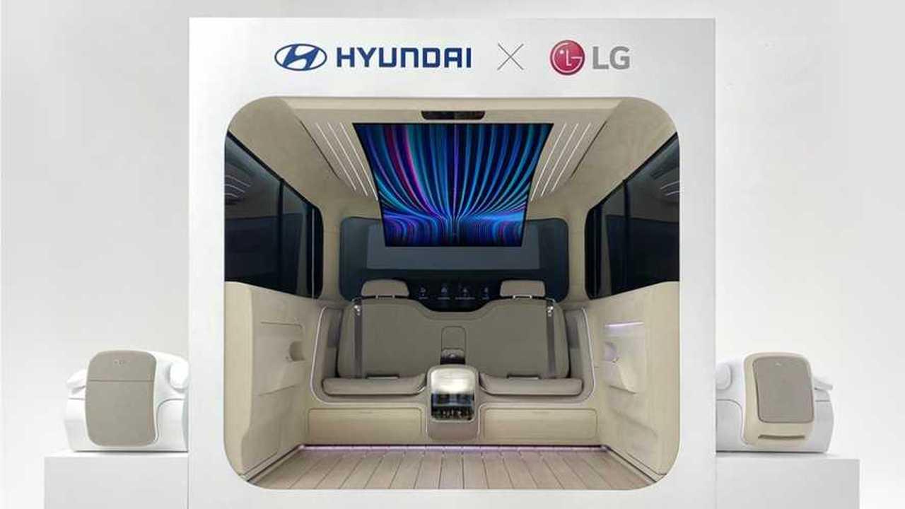 Hyundai Ioniq Kabin Konsepti