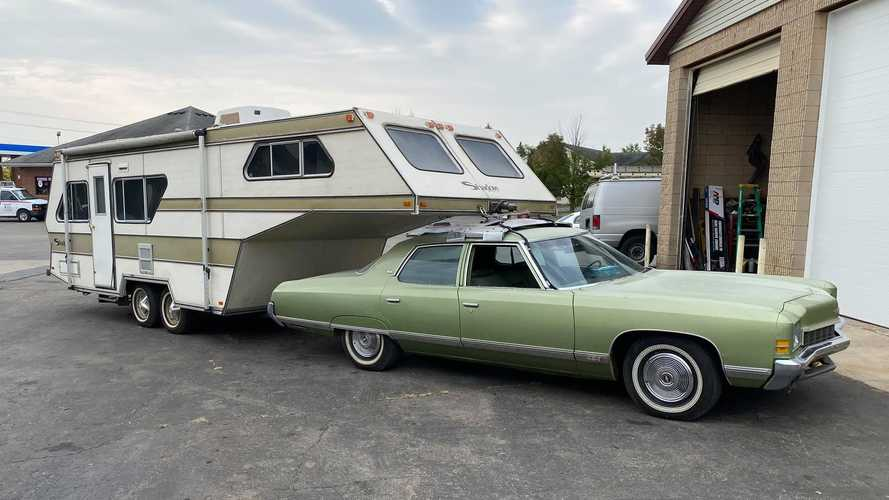 Harmon Shadow Roof-Mount RV Trailer Is The Best And Worst Of The '70s