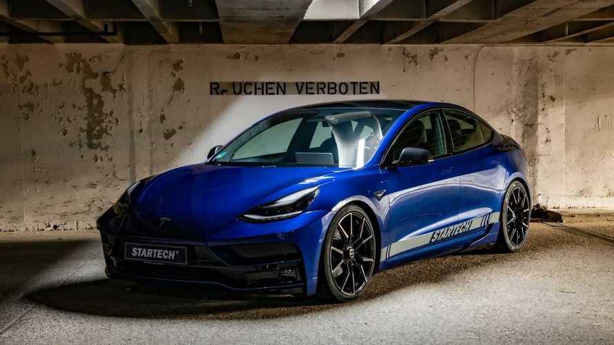 Sportosabb megjelenést kapott a Tesla Model 3