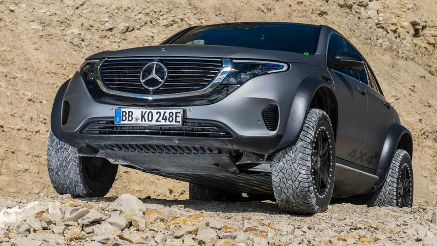 Is The Mercedes-Benz EQC 4×4² The Most Badass Off-Road EV Ever?