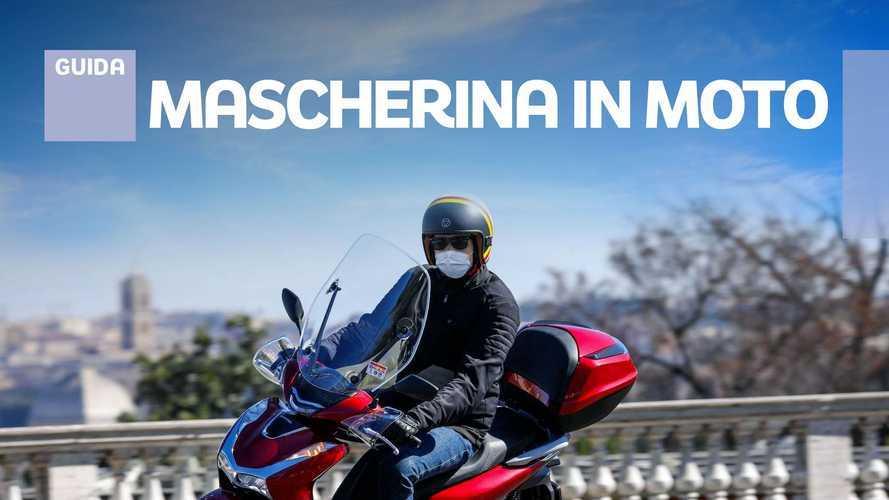 Coronavirus, ecco quando serve la mascherina su moto e scooter
