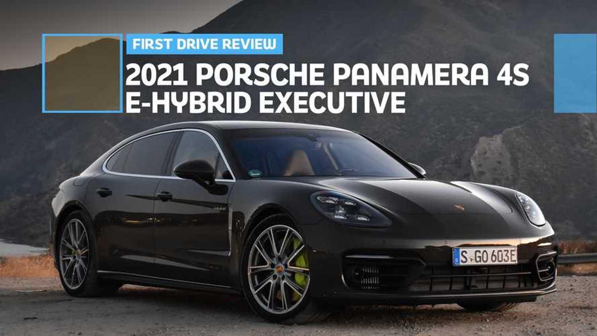 2021 Porsche Panamera 4S E-Hybrid Executive First Drive Review: Breathtaking
