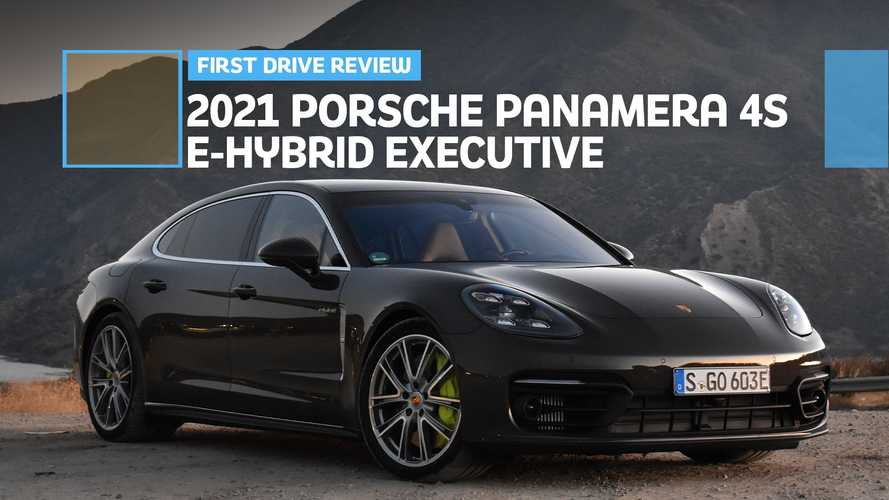 2021 Porsche Panamera 4S E-Hybrid Executive First Drive Review: Breathtaking