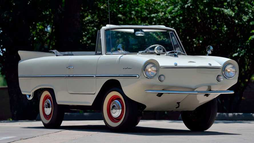 Adorable Amphicar 770 Convertible Sails Onto The Auction Block