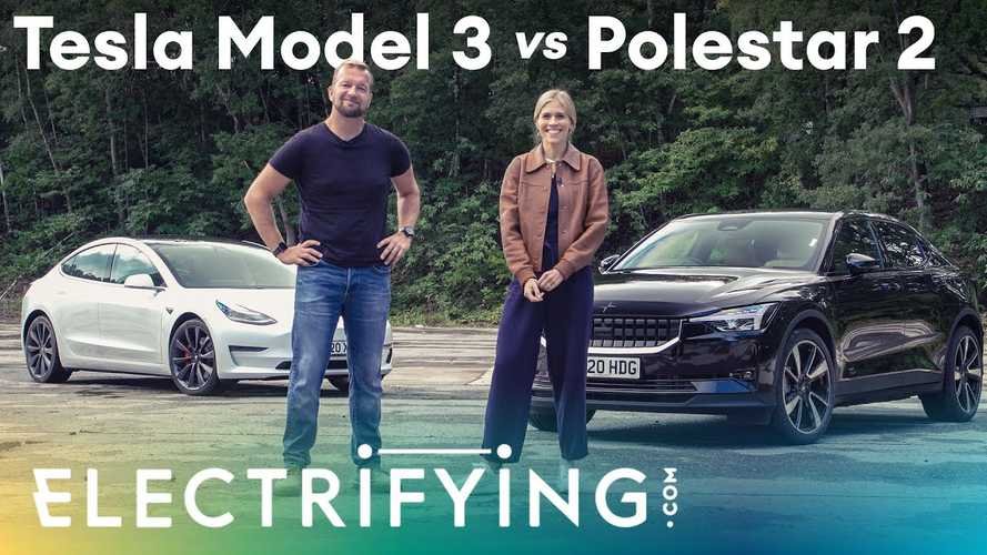 Video Really Puts The Tesla Model 3 Vs Polestar 2 Debate Into Perspective