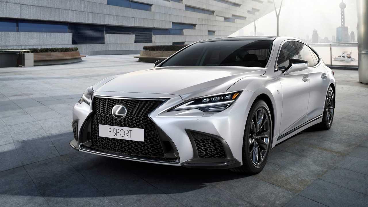 Lexus LS Facelift (2021): Der F-Sport von schräg vorne