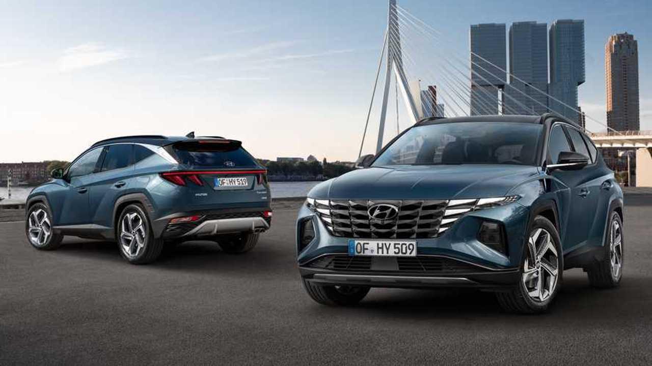 Hyundai Tucson yeni far düzeni