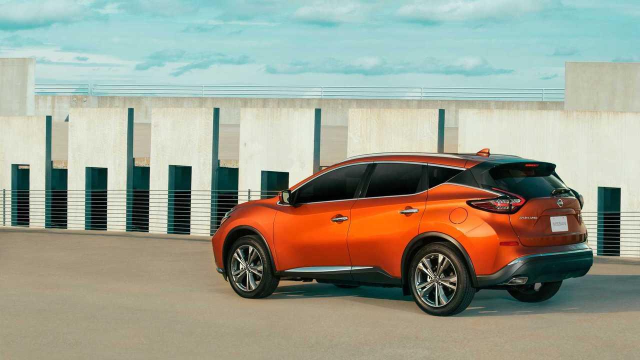 2021 Nissan Murano Side Orange - 5381368