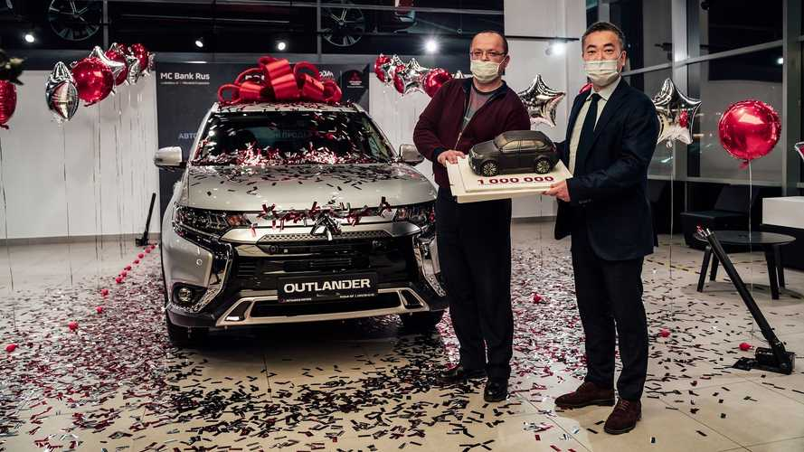 Mitsubishi продала россиянам 1 000 000 автомобилей