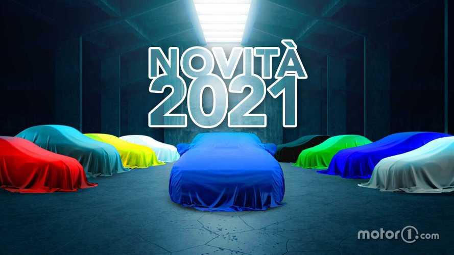 Novità auto 2021, il calendario di tutti i modelli in arrivo