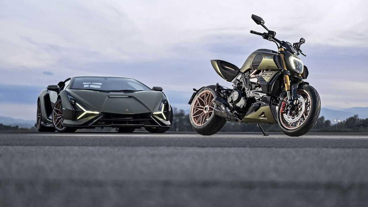 Ducati Diavel 1260 Lamborghini (2021)