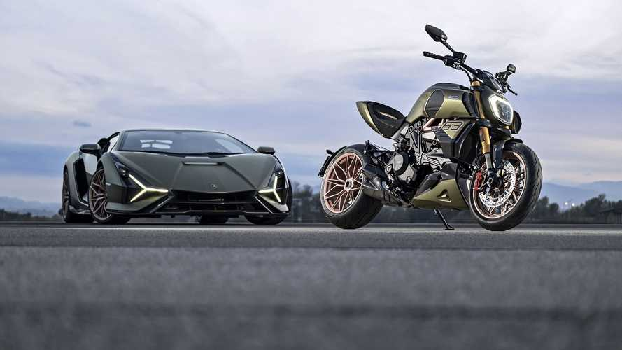 Оцените «двухколесный Lamborghini» от Ducati