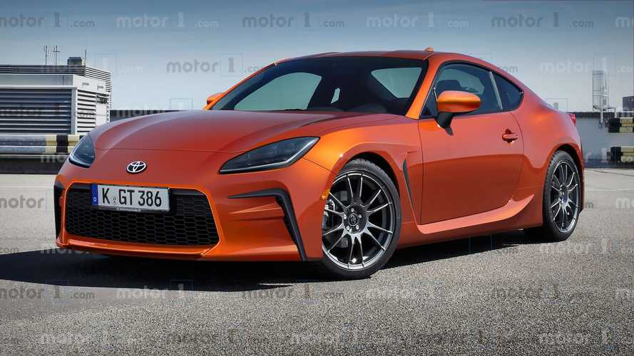 Motor1.com's Exclusive Toyota GR GT86 Renderings