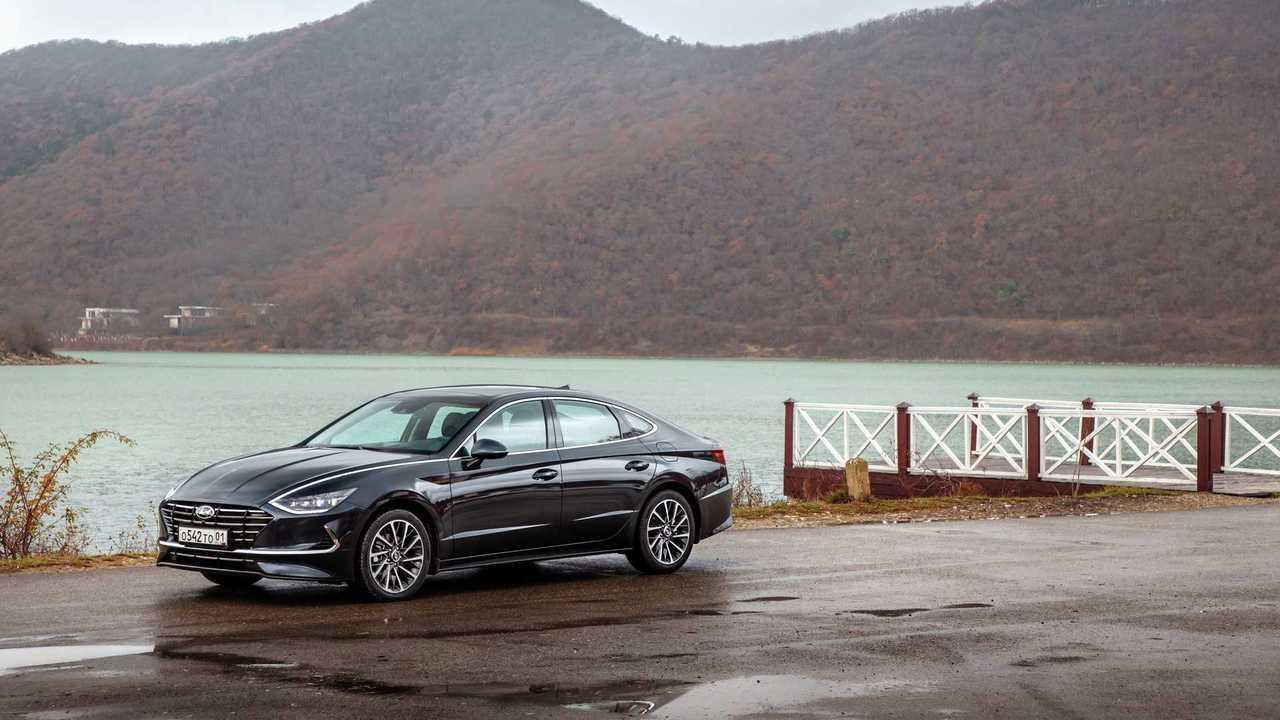 Hyundai Sonata (2020) для России