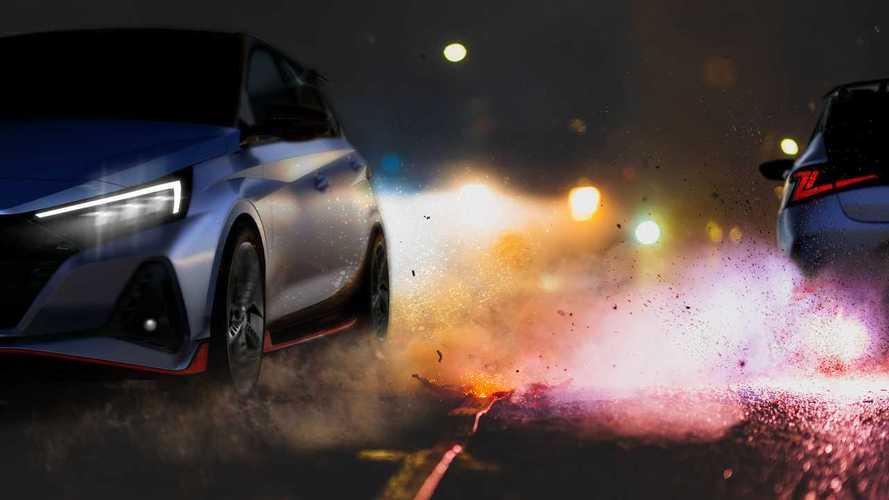 Hyundai i20 N, ecco i primi teaser
