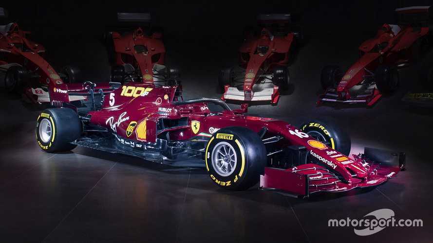 Ferrari unveils anniversary livery for 1000th F1 GP at Mugello