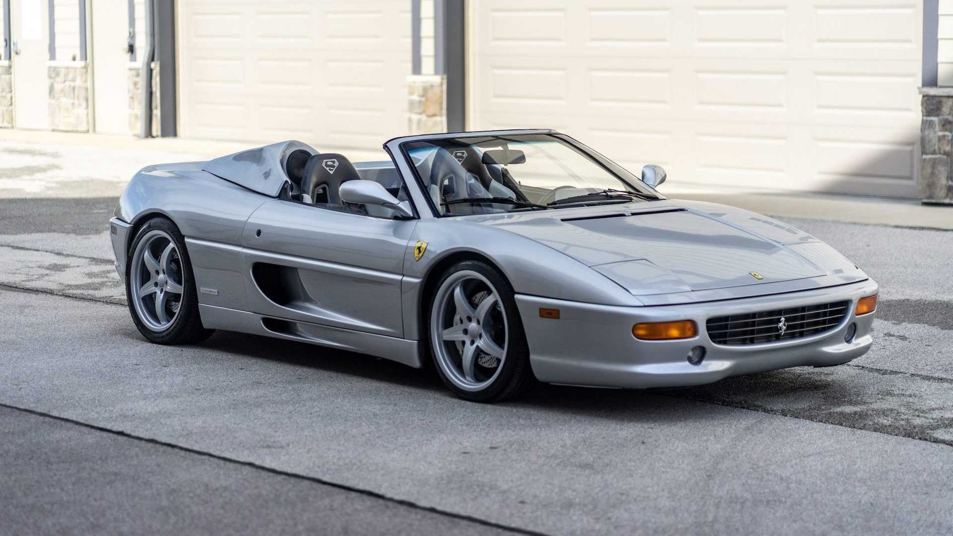 Shaquille O Neal S Ferrari F355 Spider For Sale Is Ready For Big Guys