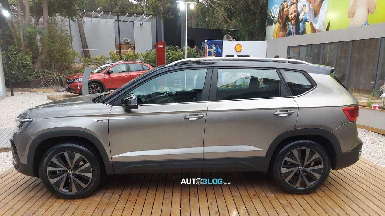 VW Taos Exposição Argentina