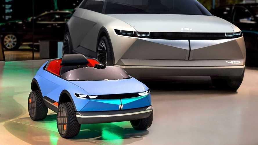 Hyundai lança carro elétrico para crianças inspirado em conceito