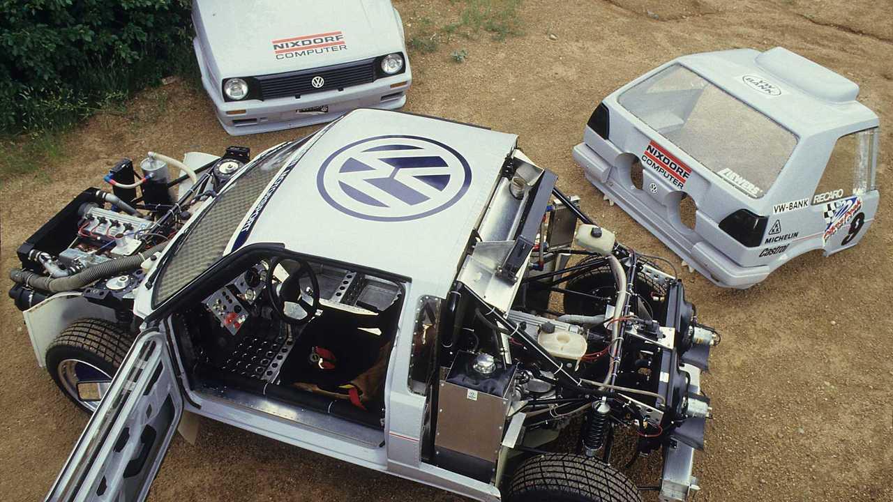 Volkswagen Golf Pikes Peak
