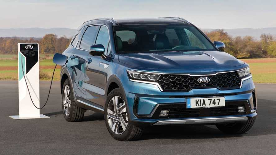 Plug-in hybrid Kia Sorento SUV will start at just under £45,000