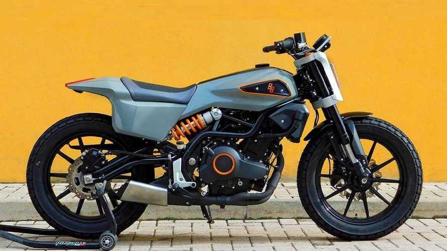 Harley-Davidson XR338 La Grintosa, la piccola di Milwaukee sarà così?