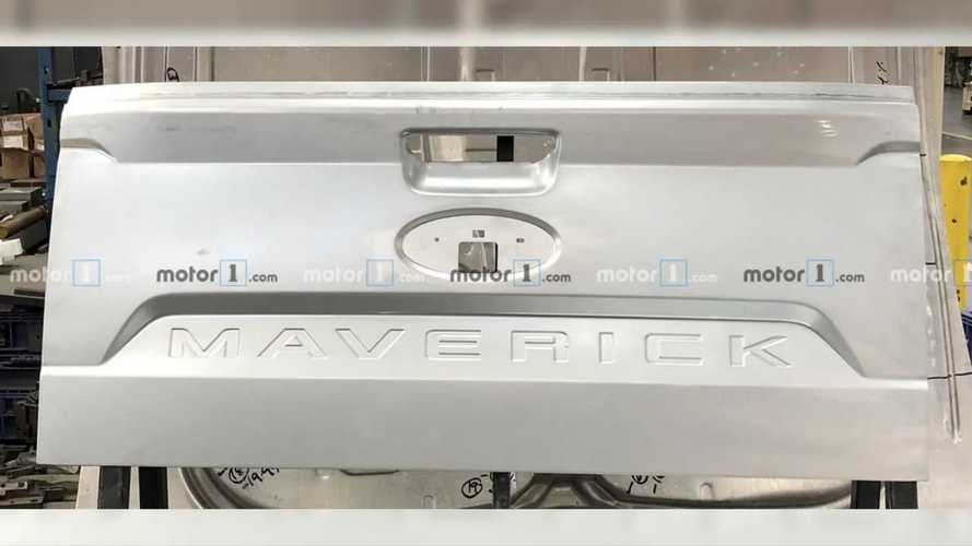 Ford Maverick: flagra da tampa confirma nome da rival da Toro que chega em 2021