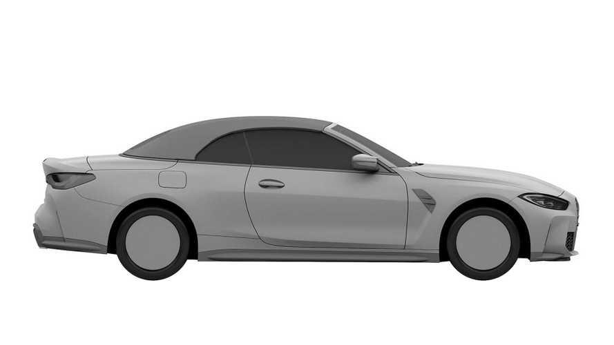 Патентные изображения кабриолета BMW M4