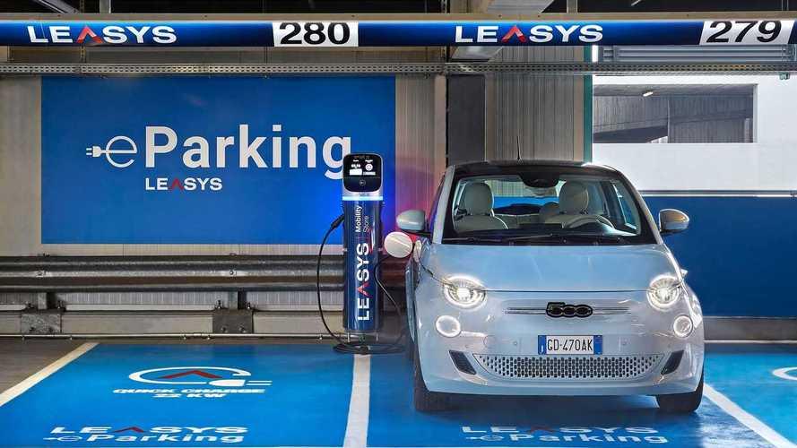 La 500 elettrica debutta nel car sharing LeasysGO!: ecco come funziona