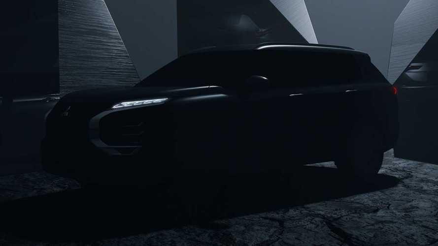 Novo Mitsubishi Outlander 2022 ganha 1º teaser; estreia será em fevereiro
