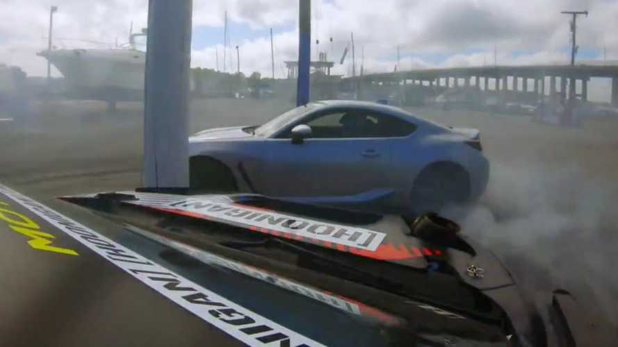 2022 Subaru BRZ Shows Up In Gymkhana 11 Trailer