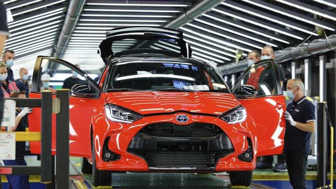 Production Toyota Yaris
