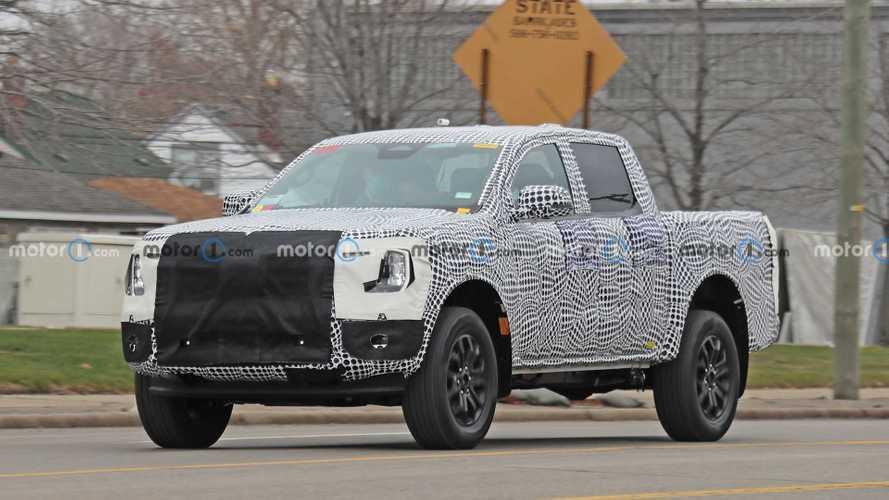 Ford Ranger (2022) erstmals erwischt, zeigt F-150-Designmerkmale