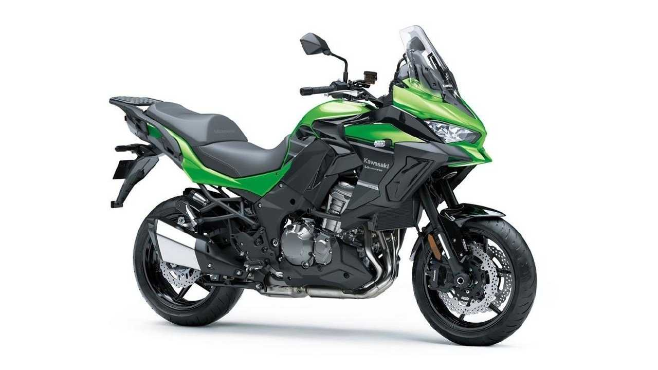 2021 Kawasaki Versys 1000, Right Front Quarter