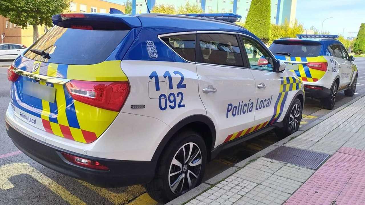 Coche chino DFSK 580 para la Policía Local de Burgos