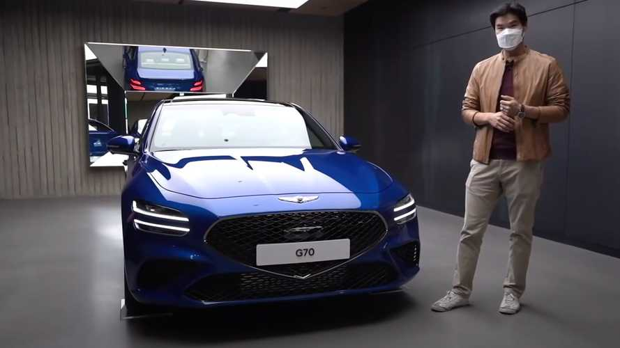 Get To Know The 2022 Genesis G70 Better With This Half-Hour Video