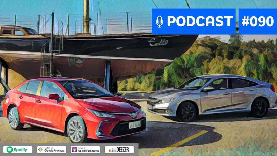 Motor1.com Podcast #90: Civic, Corolla e cia serão as próximas vítimas dos SUVs?