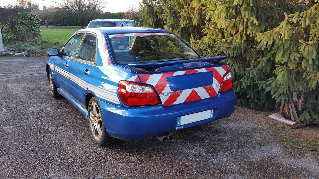Subaru Impreza WRX Gendarmería francesa