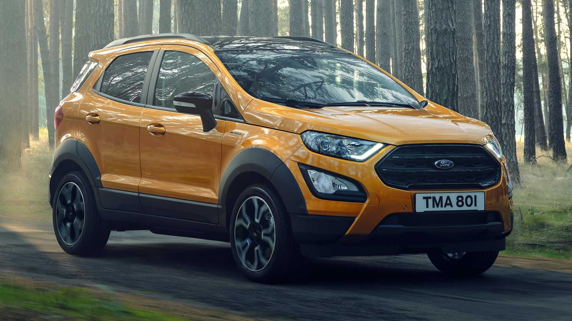 4 Ford EcoSport Active Officially Revealed Trying To Look Tough