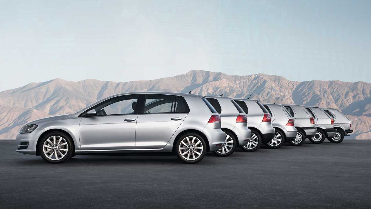 Volkswagen Golf Nesilleri