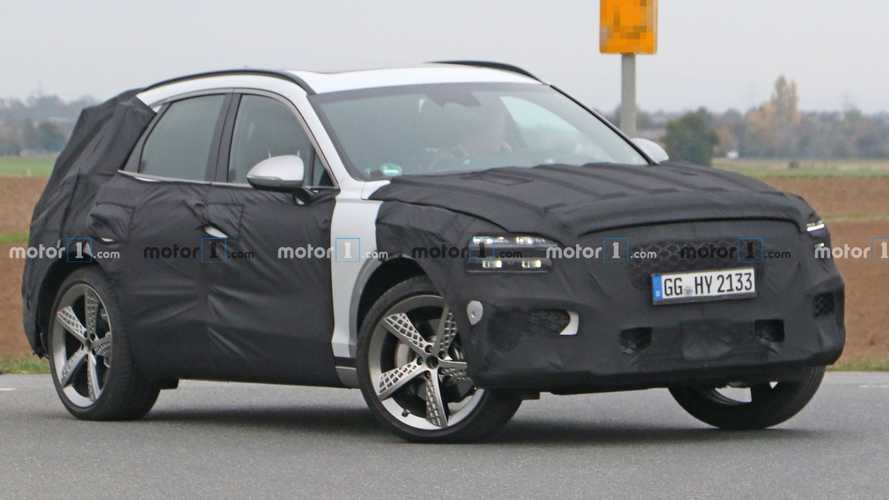 Genesis GV70 Spied Testing On Euro Soil In Sporty Trim