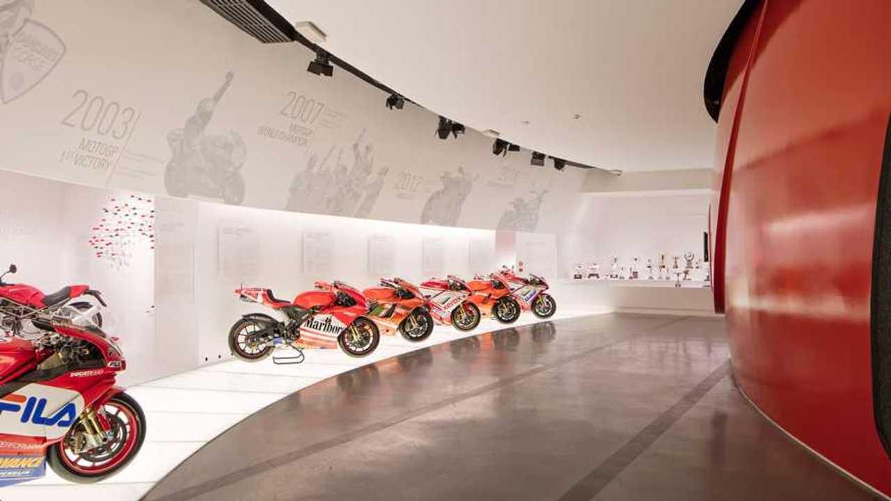 Ducati Museum Racing Room