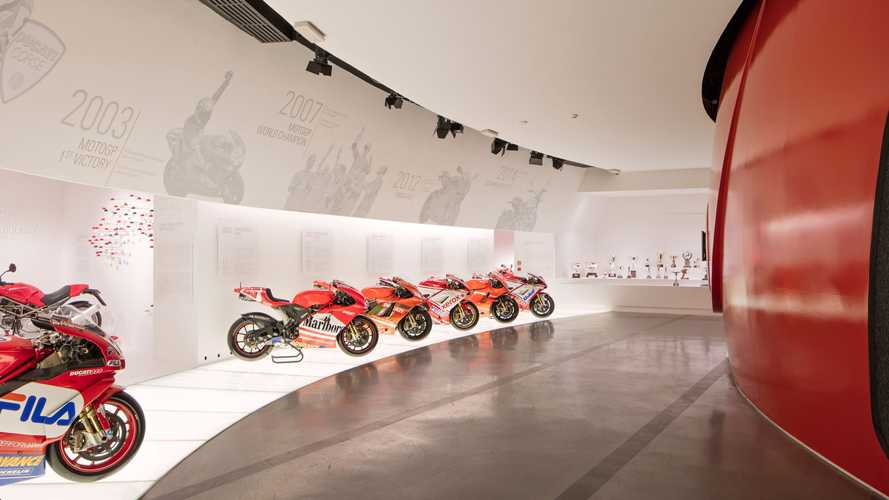 Ducati Museum Now Offering Expanded Tours, Including A Virtual Option