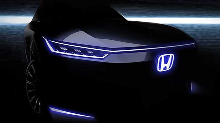 Honda Teases Sharply Styled EV Concept For Auto China 2020