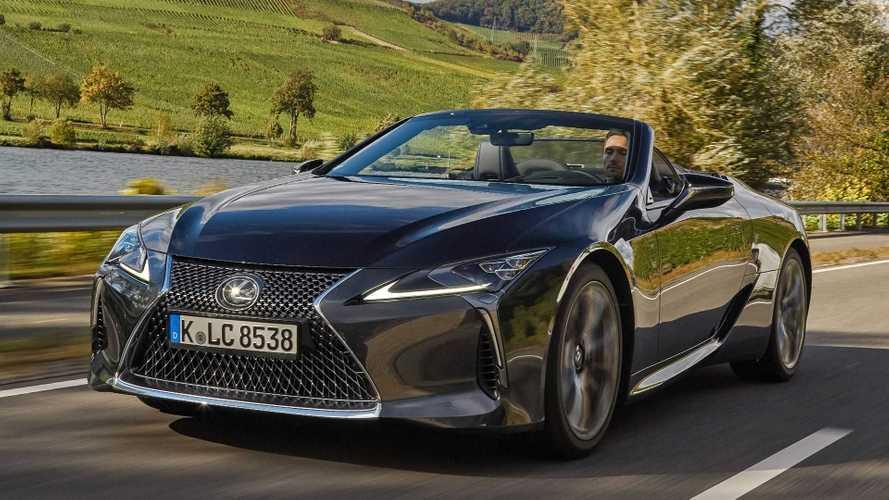 Lexus LC Cabrio startet ausschließlich als V8-Version (Update)