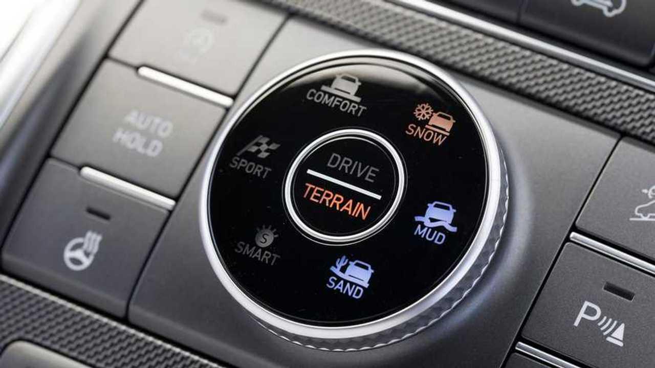 Nuova Hyundai Santa Fe con il Terrain Mode Selector