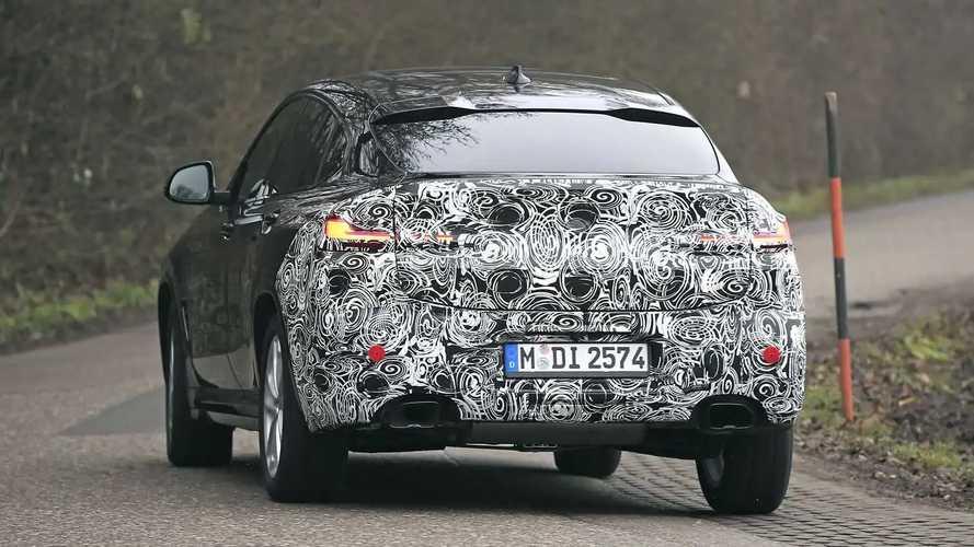 Spy Shot BMW X4 2022 (Facelift) dalam Uji Coba